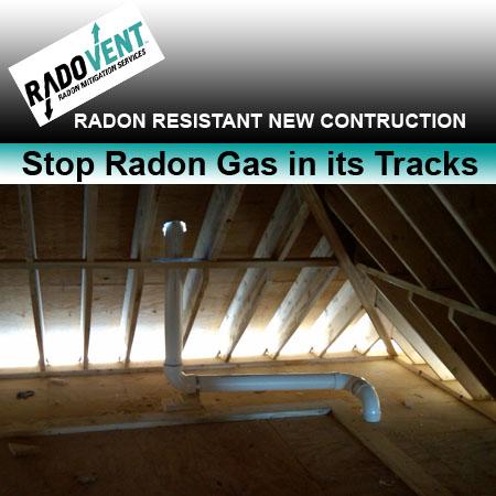 Passive radon systems