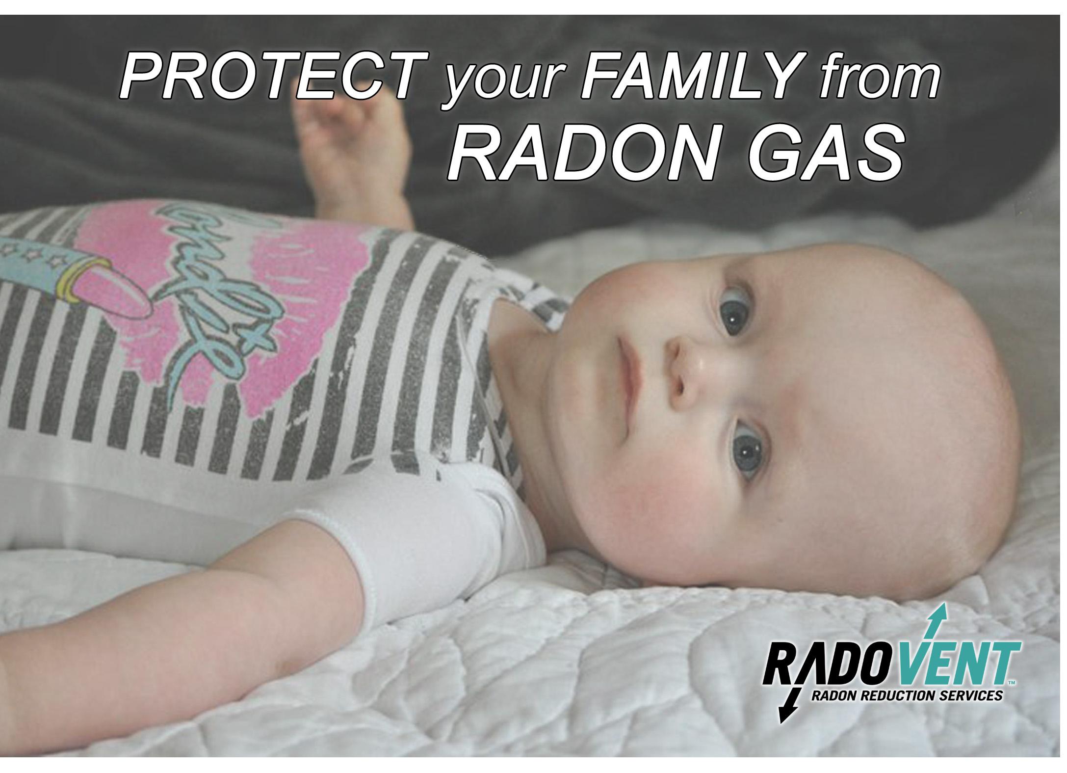 children radon gas