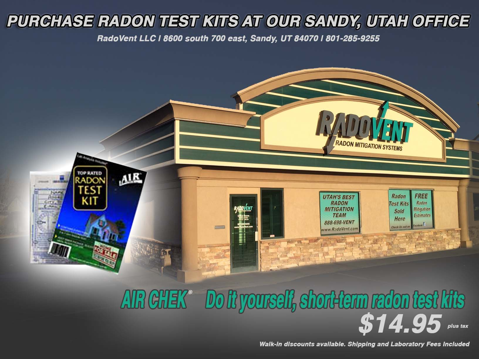 Utah Radon Mitigation Company Radovent Radon Experts