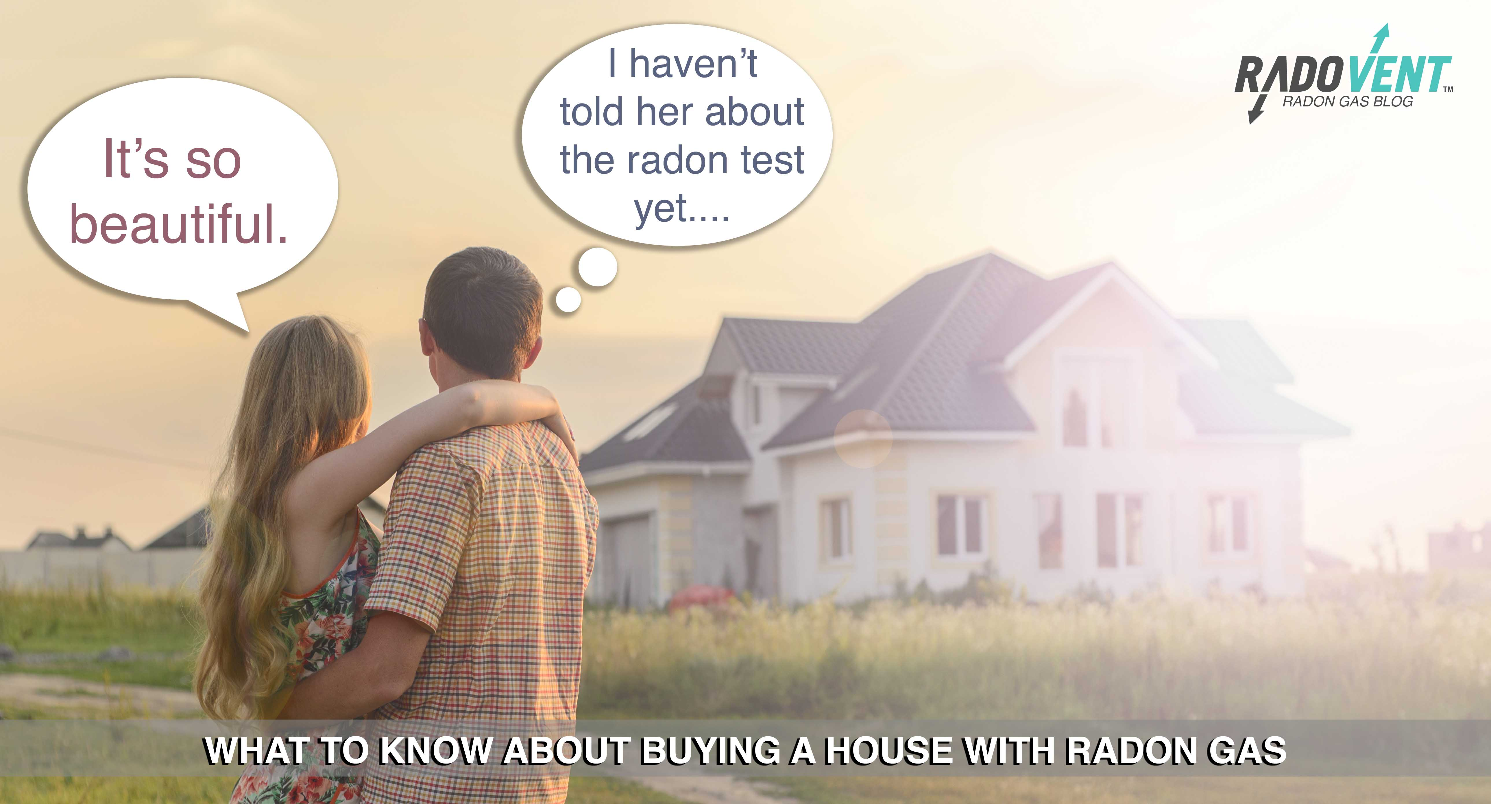buying a house with radon
